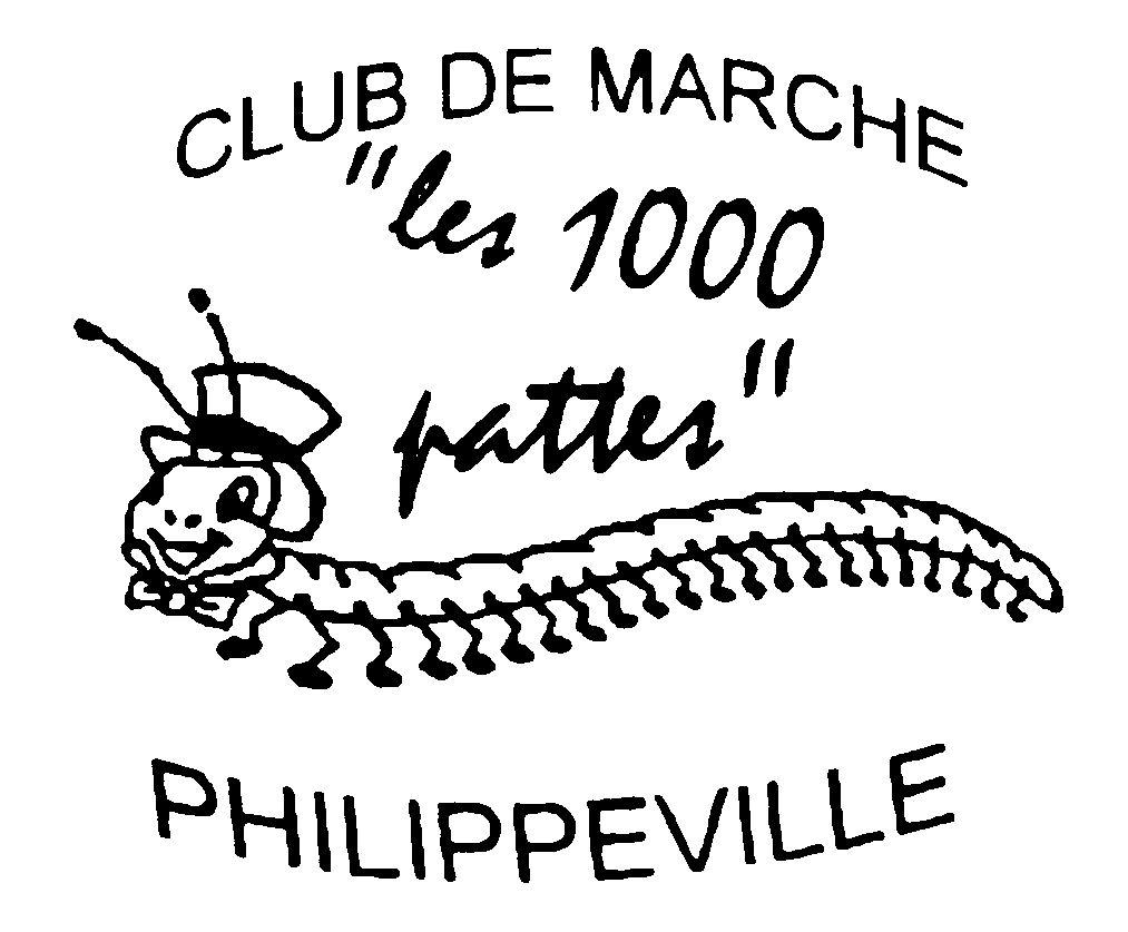 Logo Les 1000 Pattes